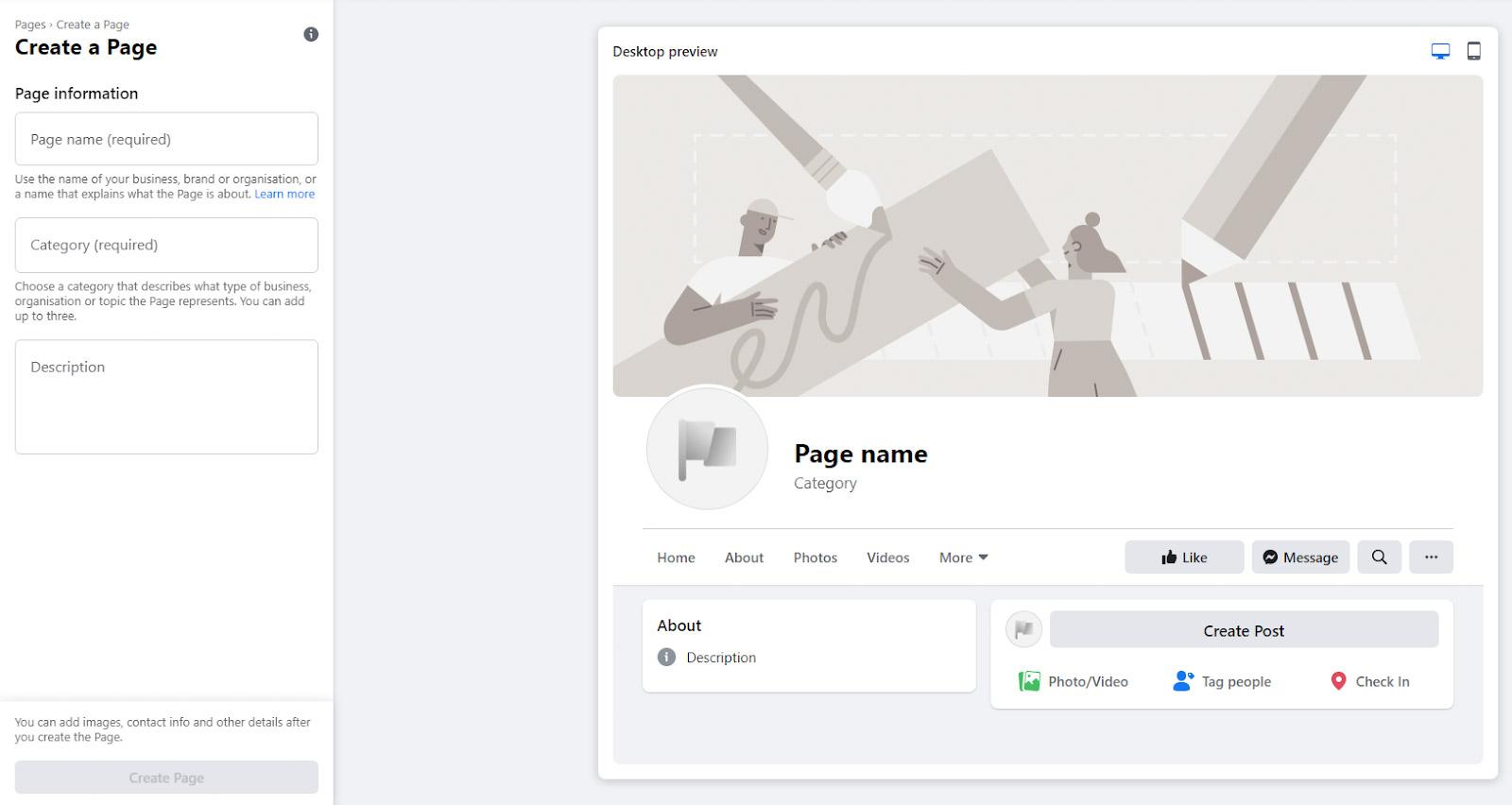 Trang Facebook: Cách tạo Trang Facebook cho doanh nghiệp của bạn
