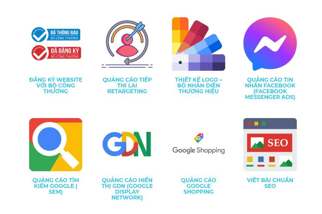 Dịch vụ quảng cáo online hiệu quả ở Quận 2