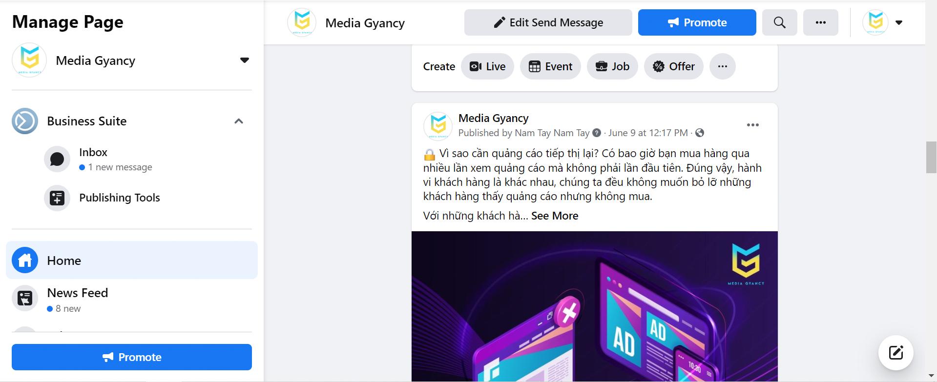 Chạy quảng cáo Facebook cần chuẩn bị những gì
