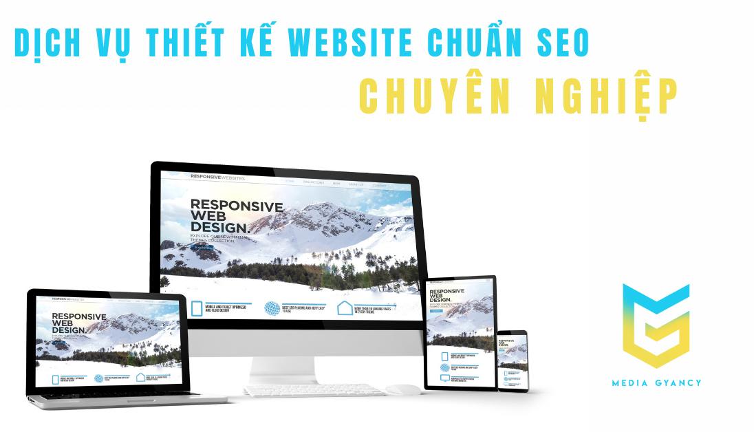 Dịch vụ thiết kế website chuẩn SEO chuyên nghiệp ở Quận 9