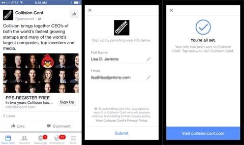 Hình thức quảng cáo Facebook Leads