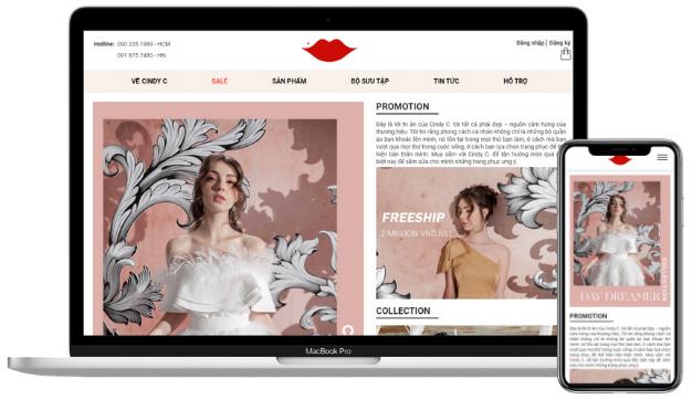 Thiết kế website thời trang tại quận 9