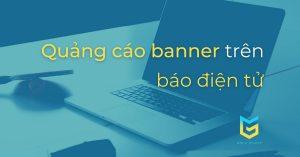 quảng cáo banner trên báo điện tử